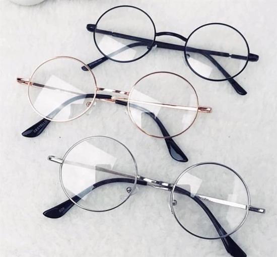 Kemik Oval - Yuvarlak Gözlük Çerçeve (John Lennon) Modeli