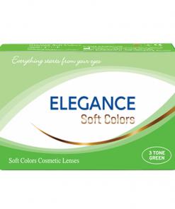 Elegance Soft Colors Renkli Lens