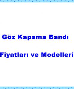 Göz Kapama Bandı